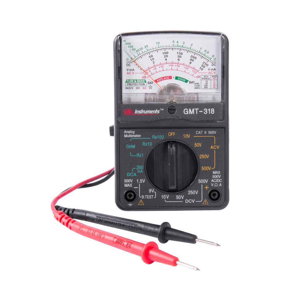 14-Range Analog Meter