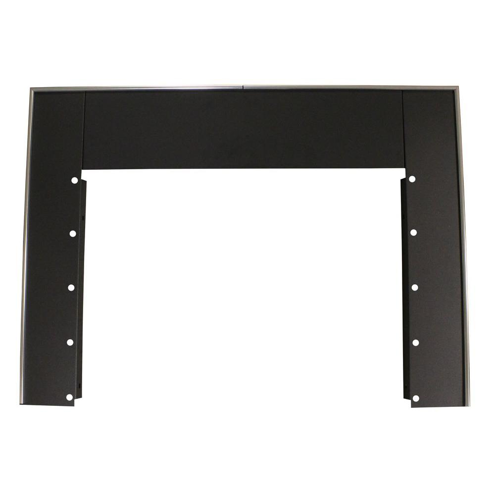 44 - Black Fireplace Mantels