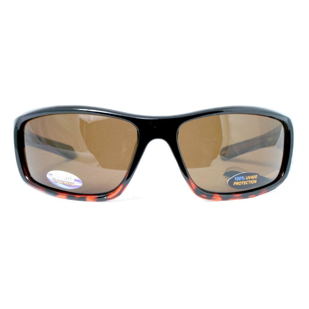 7136d6f5fa4e Men s Polarized Full Frame with Rubber Touch Points and Chrome Colored Logo  Sunglass