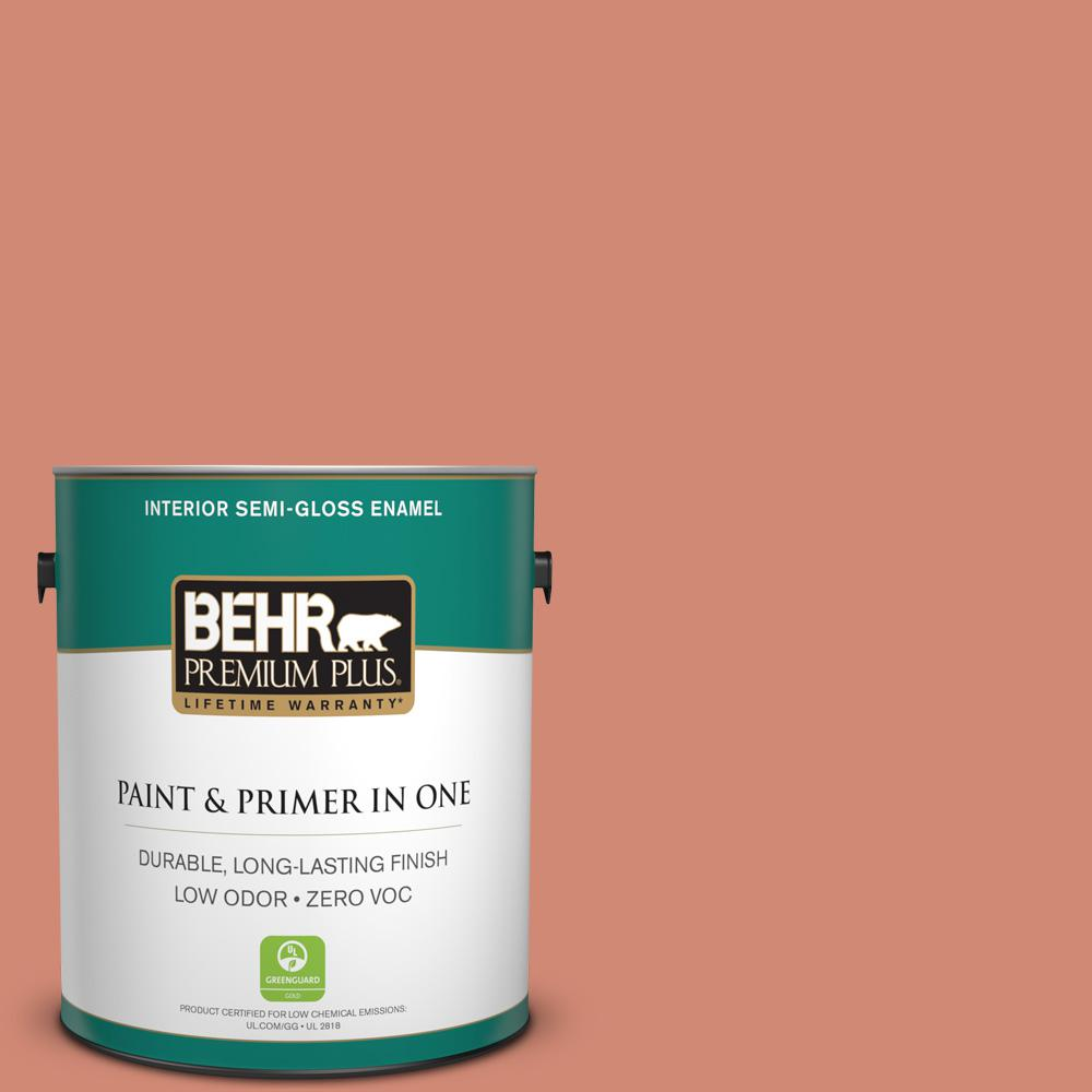 1-gal. #M190-5 Fireplace Glow Semi-Gloss Enamel Interior Paint