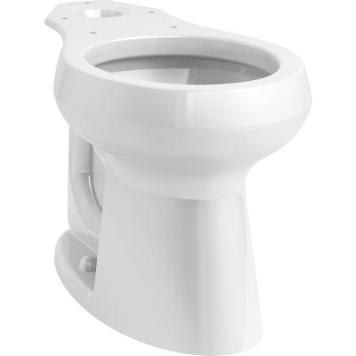 Highline Comfort Height Round Toilet Bowl Only in White