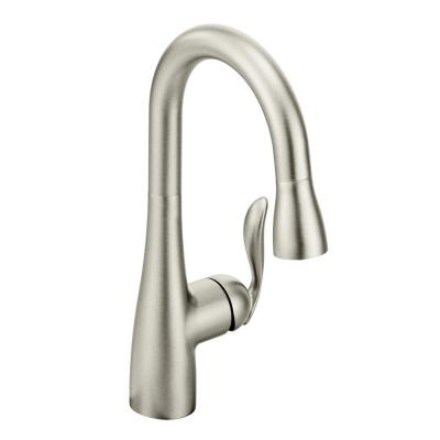 Arbor Single-Handle Pull-Down Sprayer Bar Faucet with Reflex and Power Clean in Spot Resist Stainless