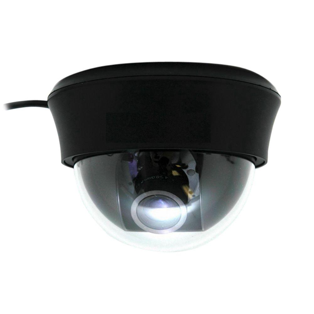 SeqCam Wired Dome Indoor/Outdoor Color Security Camera