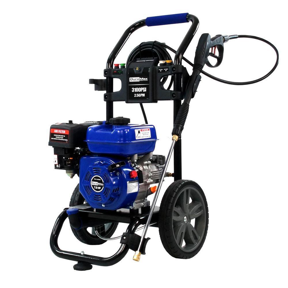Duromax 3,100 PSI  2.5 GPM 7 HP Gas Engine Pressure Washer