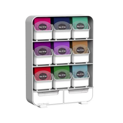 Baggy 9-Drawer 135-Bag White Tea Storage Holder