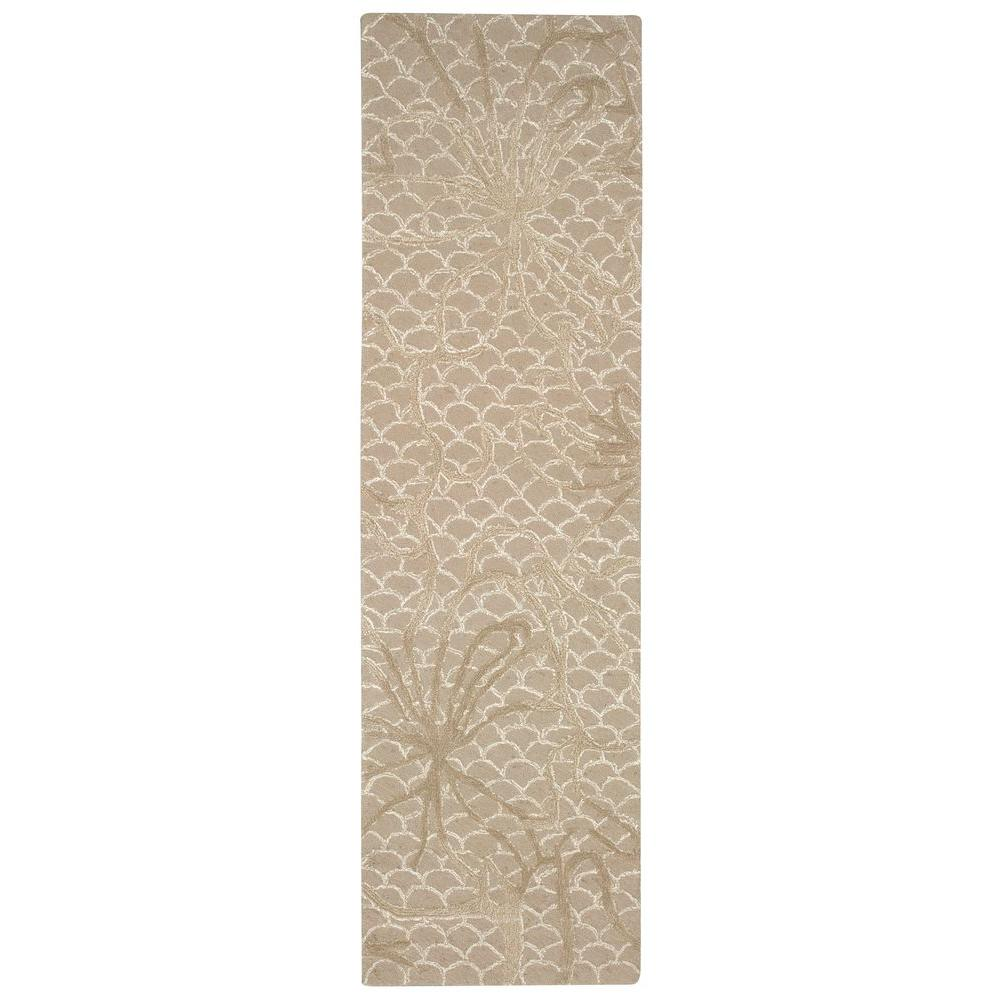 Nourison Overstock Escalade Latte 2 Ft 3 In X 8 Rug