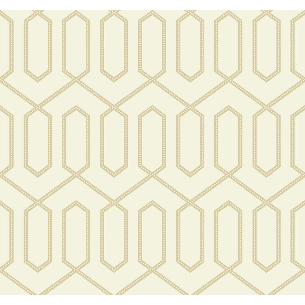 york wallcoverings inc dwellstudio dotted trellis wallpaper - Trellis Wall Paper