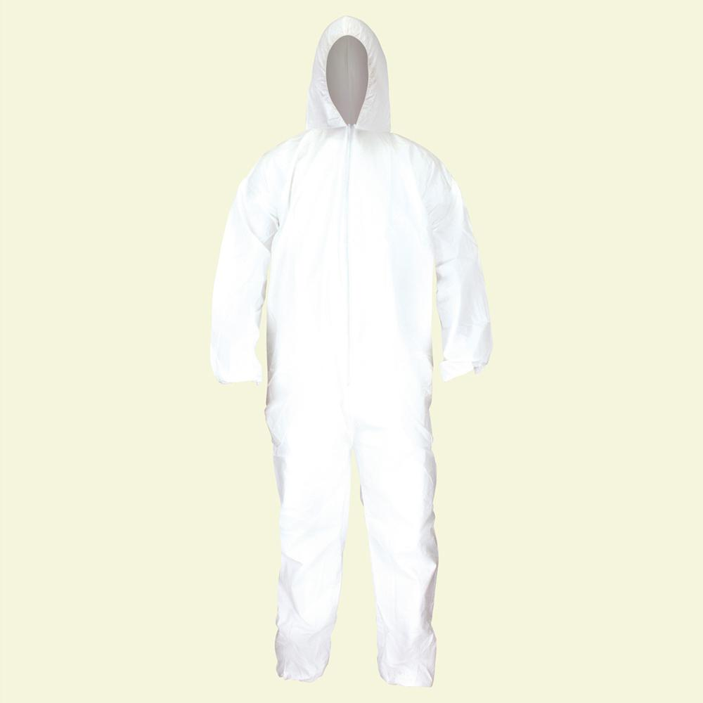 Medium Gen-Nex Professional Grade Hooded Coveralls (24-Pack)