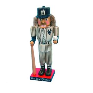 Kurt S. Adler 14 inch Yankees Baseball Player Nutcracker by Kurt S. Adler