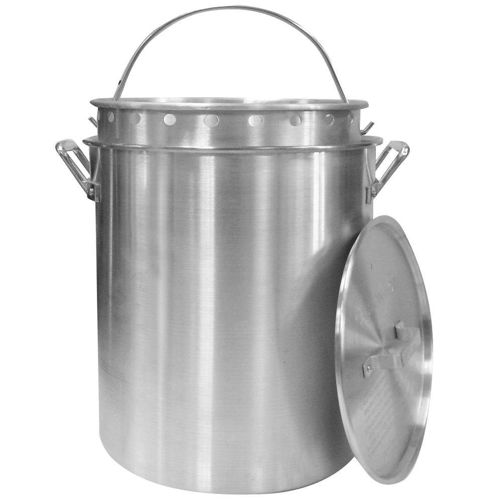 30 Qt Pot With Strainer Basket