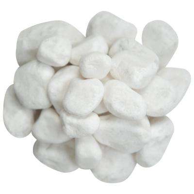 0.5 cu. ft . 1 to 2 inch Himalaya White Pebbles. 40 lbs. Bag (55 Bags/Pallet)
