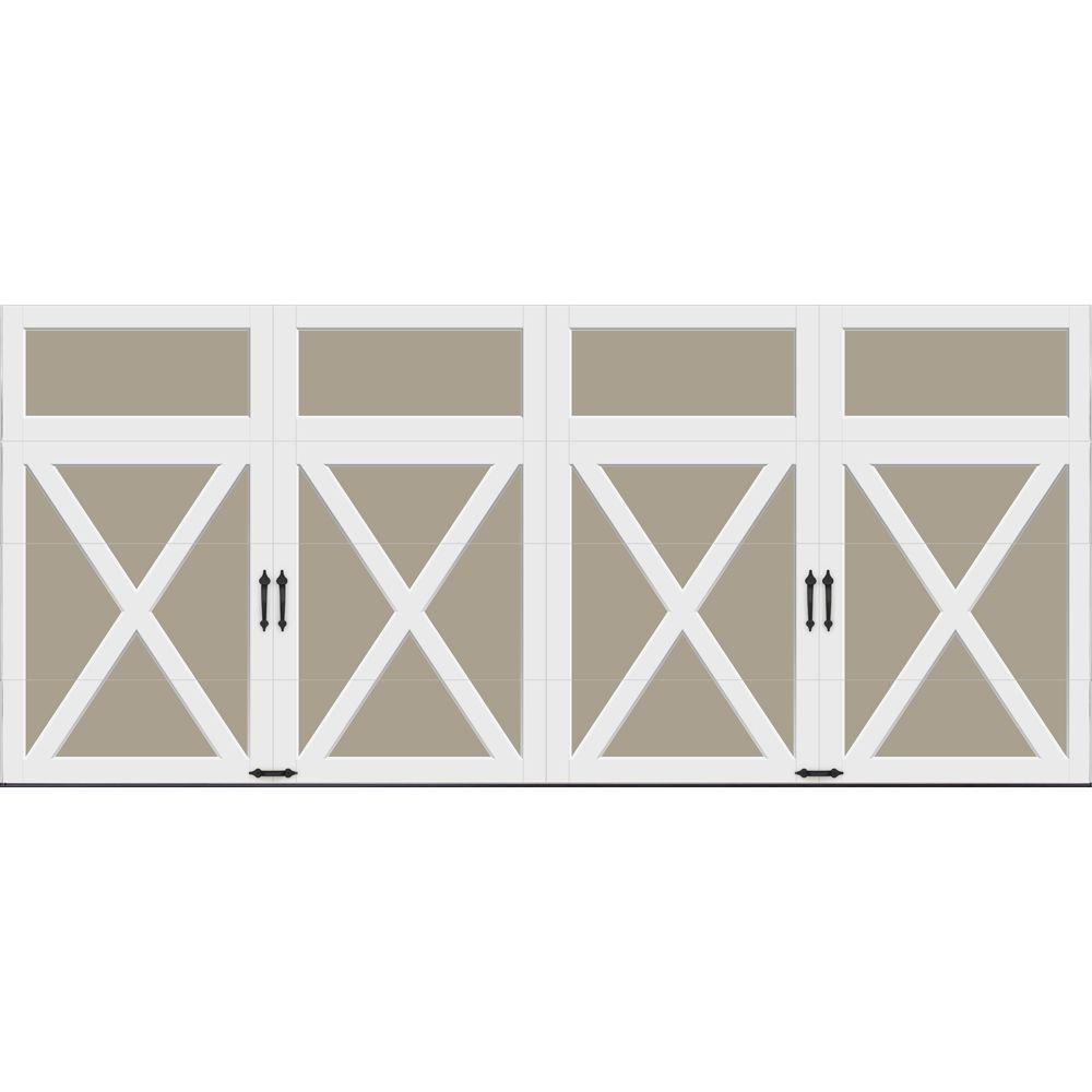 White garage doors garage doors openers accessories for 11 x 7 garage door