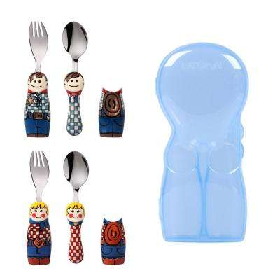 Duo Cowboy/Cowgirl 6-Piece Flatware Set