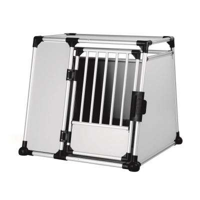 37 in. L x 36.5 in. W x 34.25 in. H XXL Metallic Transport Crate