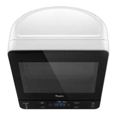 0.5 cu. ft. Countertop Microwave in White