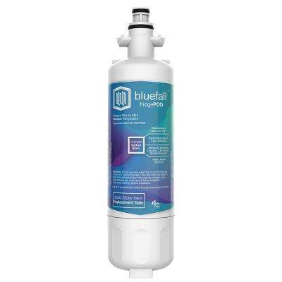 1 Compatible Refrigerator Water Filters Fits LG LT700P and Kenmore 46-9690 (Value Pack)
