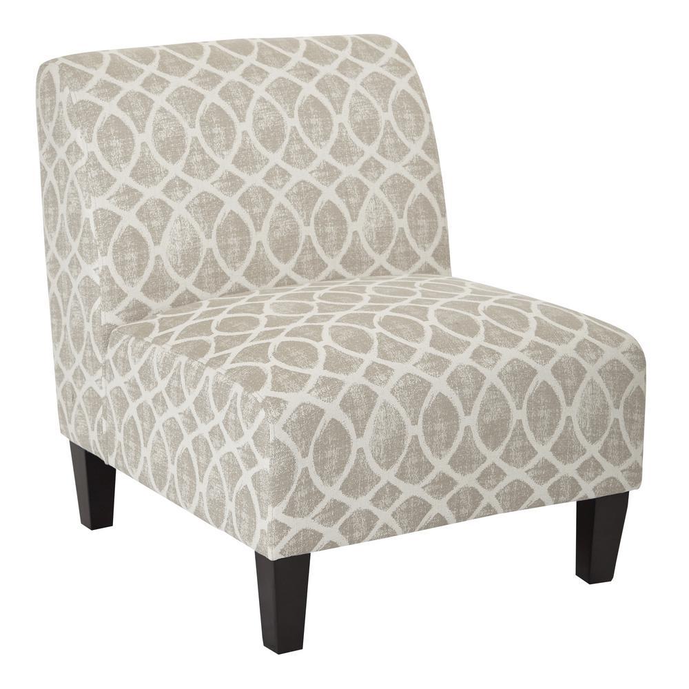 Magnolia Mist Geo Sand Chair
