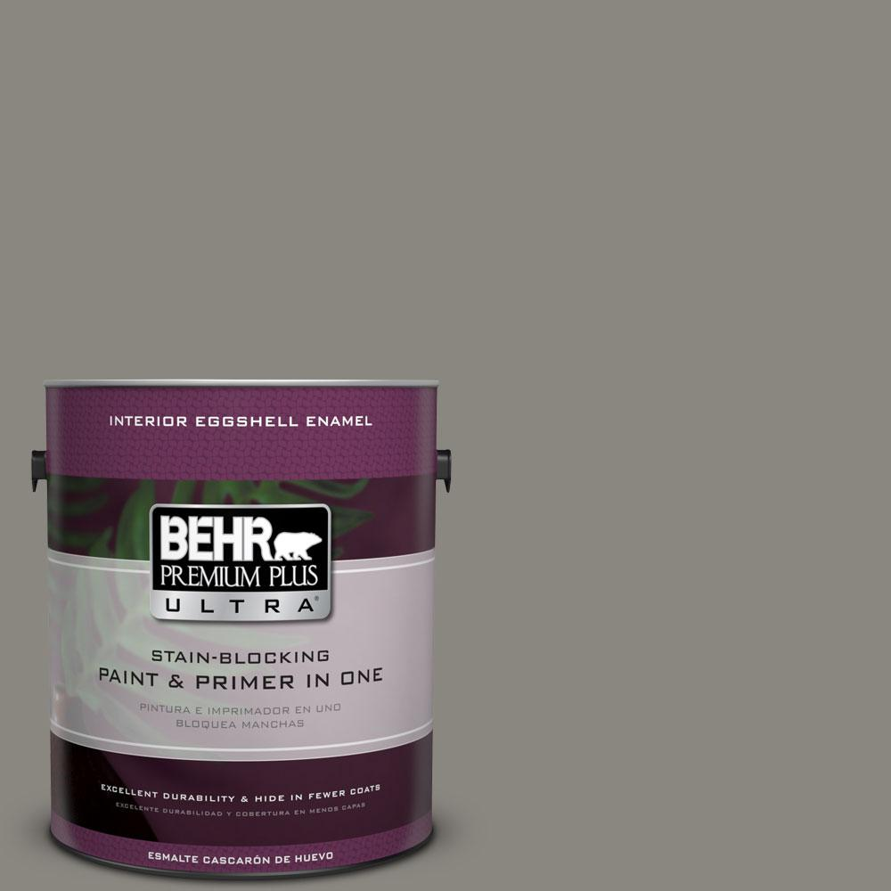 BEHR Premium Plus Ultra Home Decorators Collection 1 gal. #HDC-NT-23 Wet Cement Eggshell Enamel Interior Paint