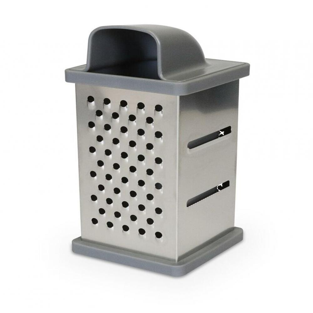 4-Sided Grater in Gray