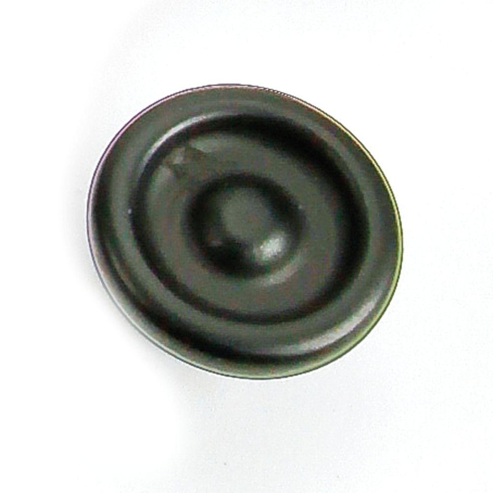 Foundry 1-1/4 in. Black Iron Cabinet Knob