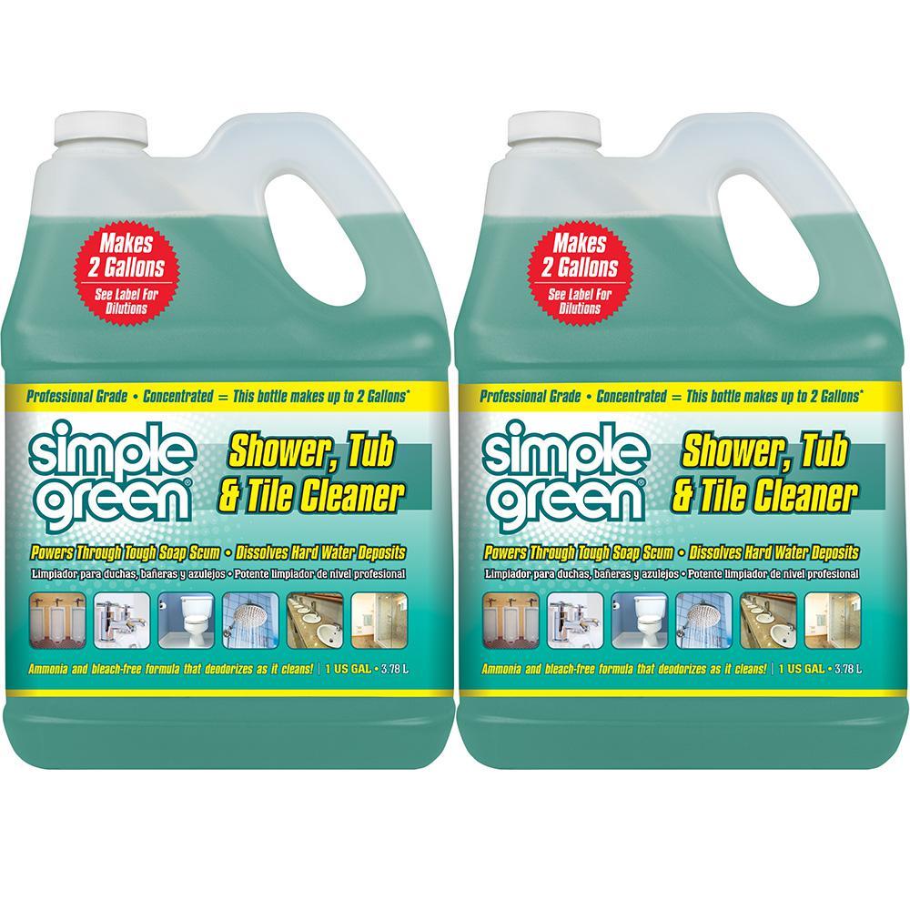 1 Gal. Pro Grade Shower, Tub and Tile Cleaner (2-Pack)