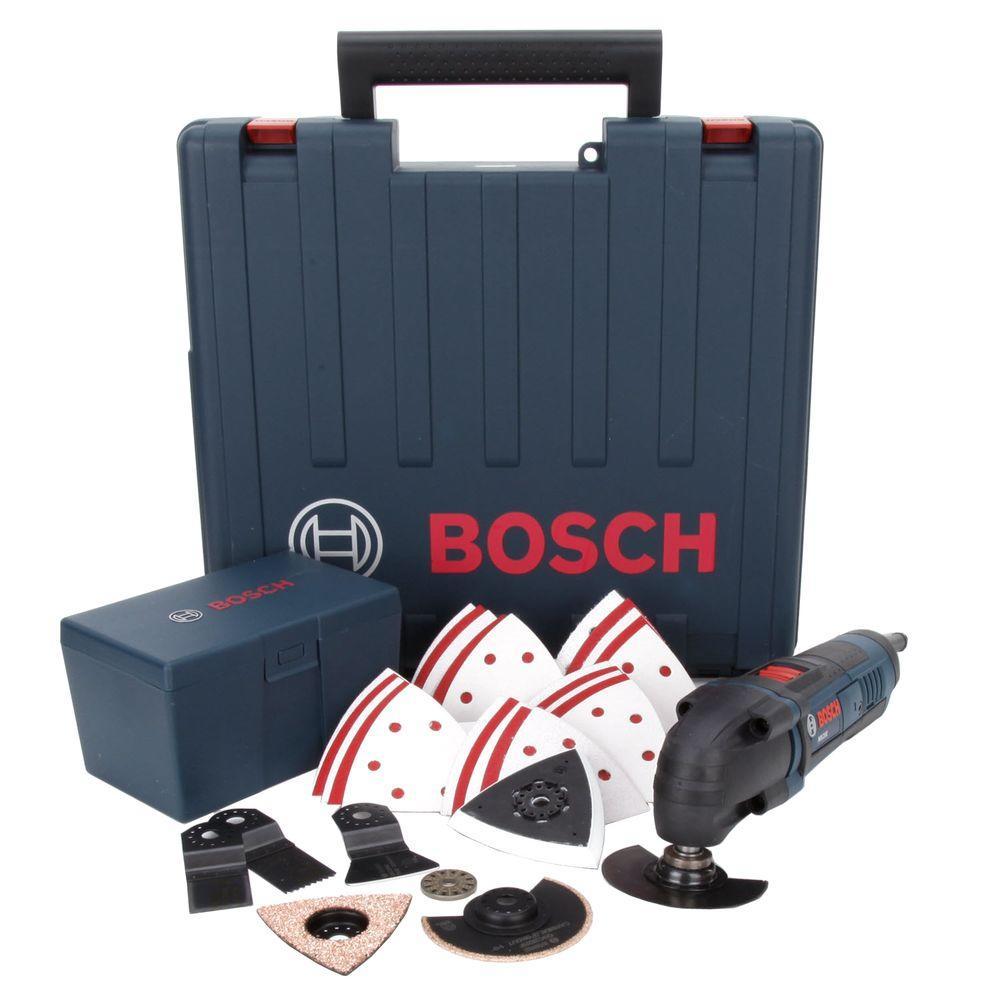 Bosch 2.5 Amp Corded Multi-Max Oscillating Tool Kit
