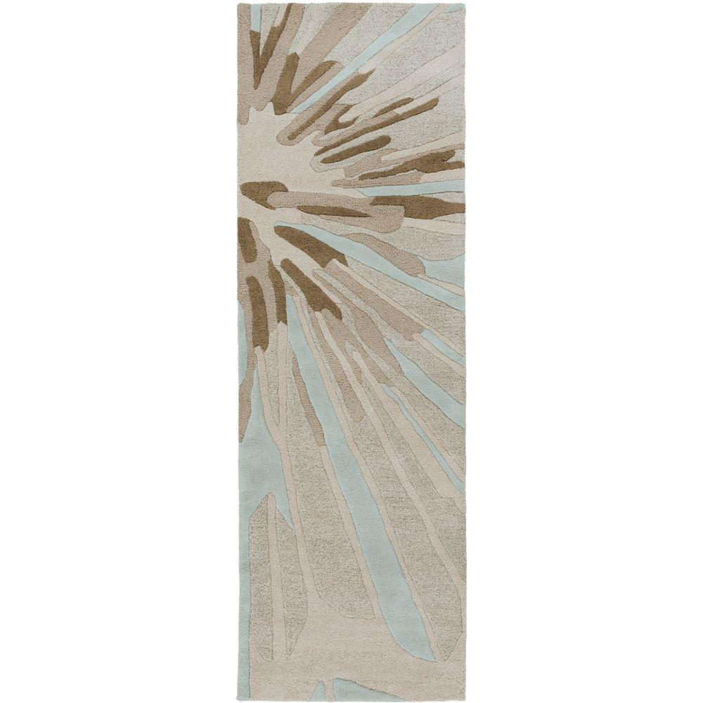 Arisarum Ivory 2 ft. 6 in. x 8 ft. Indoor Rug