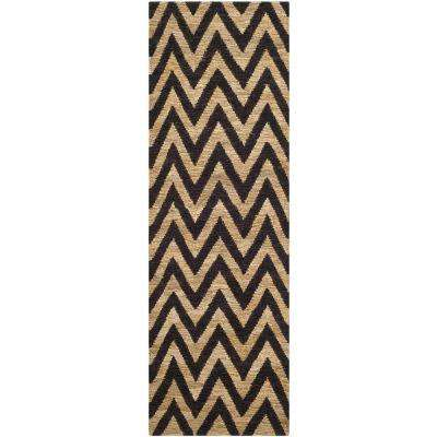 Organica Black/Natural 3 ft. x 6 ft. Runner Rug