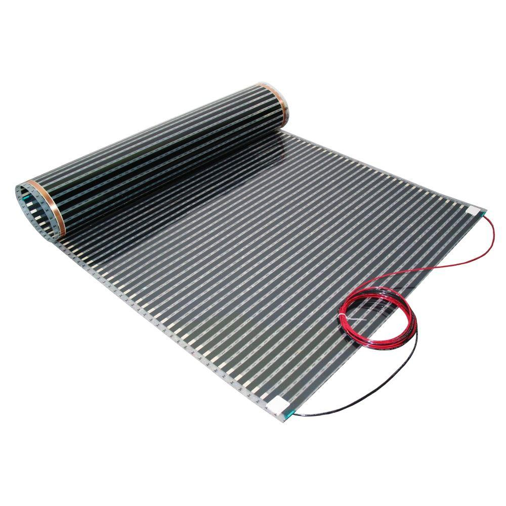 240 Volt Floor Heating Film Covers 90 Sq Ft
