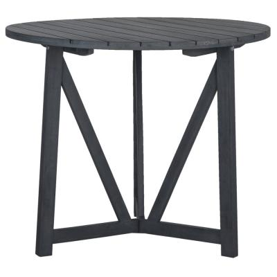 Cloverdale Ash Grey Round Outdoor Dining Table
