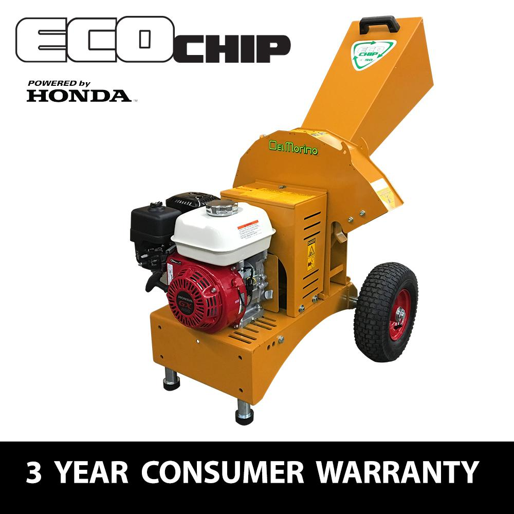 2.5 in. 196 cc Gas Powered Commercial-Duty Chipper Shredder