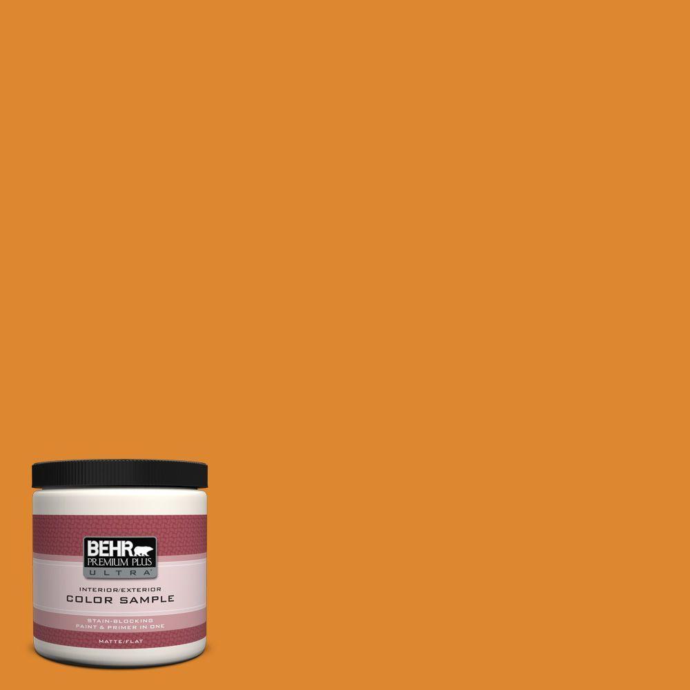 BEHR Premium Plus Ultra 8 oz. #280B-7 Status Bronze Interior/Exterior Paint Sample
