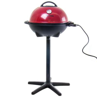 240 sq. in. Red Steel Smokeless Electric Indoor/Outdoor Grill
