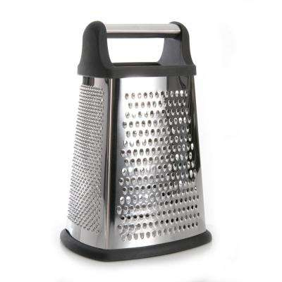 Studio Stainless Steel Grater with Rubber Handle