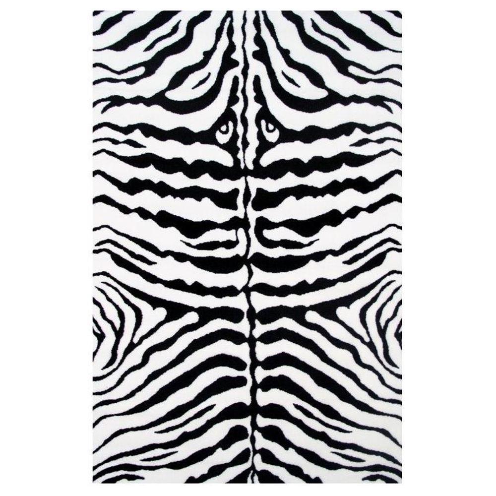 Fun Time Zebra Skin White And Black ...