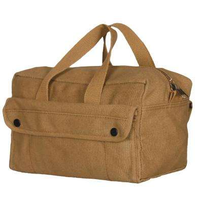 11 in. Mechanic's Tool Bag with 2-Pockets in Coyote Brown