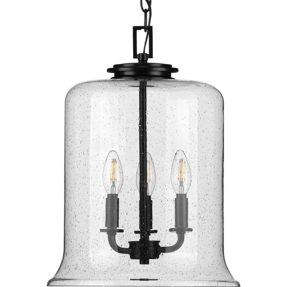 Winslett 3-Light Black Pendant