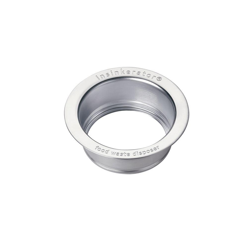 Gentil InSinkErator Sink Flange In Brushed Stainless Steel For InSinkErator  Garbage Disposals