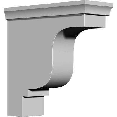 4-1/8 in. x 10-1/2 in. x 10-1/2 in. Primed Polyurethane Edinburgh Bracket