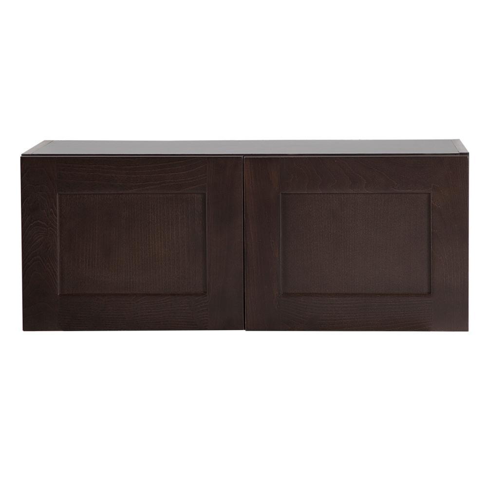 Hampton Bay Kitchen Cabinets Installation Guide: Hampton Bay Cambridge Assembled 30x12x12.62 In. Wall