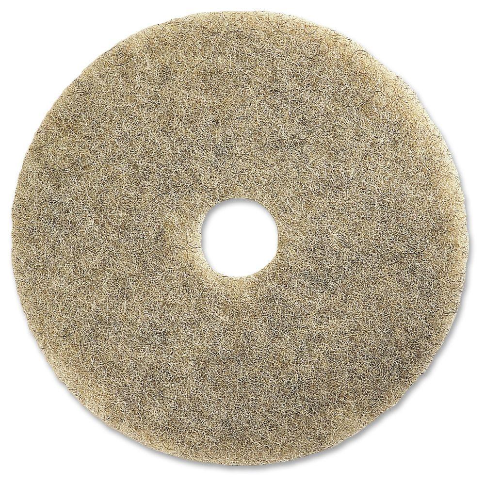 20 in. Natural Multipurpose Floor Pad (5 per Carton)