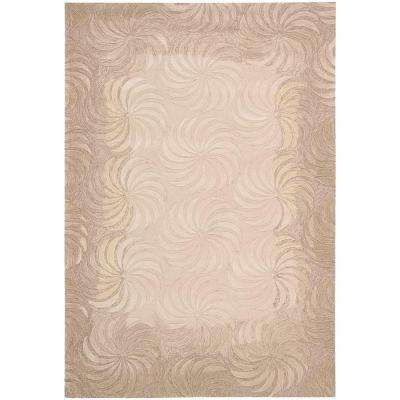 Contour Taupe 7 ft. 3 in. x 9 ft. 3 in. Area Rug