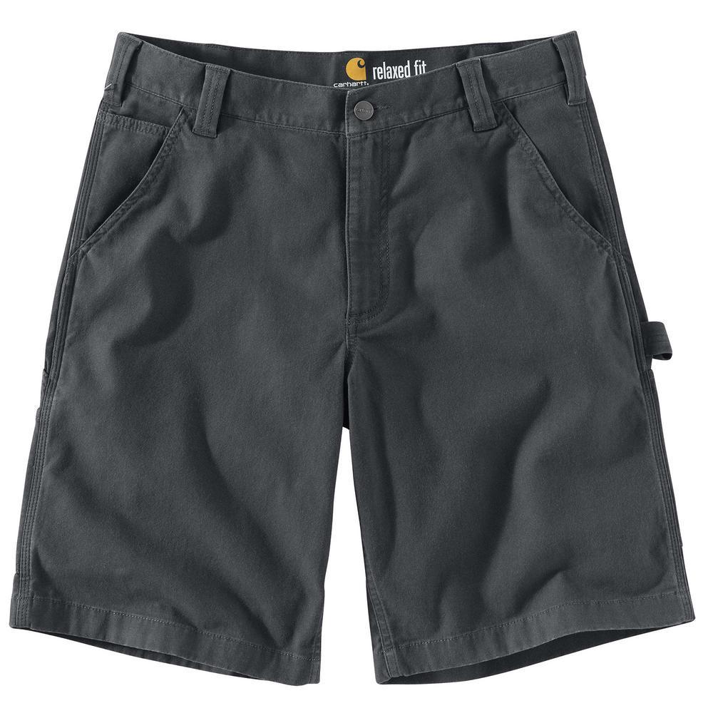 7b5dbcf2 Carhartt Men's 38 Shadow Cotton/Spandex Rugged Flex Rigby Work Short ...