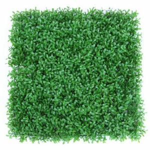 20 in. H x 20 in. W GorgeousHome Artificial Boxwood Hedge Greenery Panels,PeanutLeaf (12-pc)