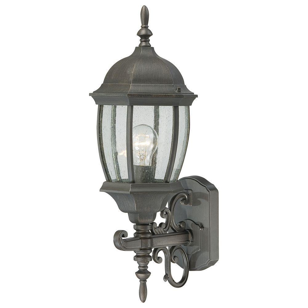 Covington 1-Light Painted Bronze Outdoor Wall Lantern