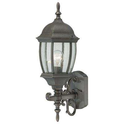 Covington 1-Light Painted Bronze Outdoor Wall Lantern