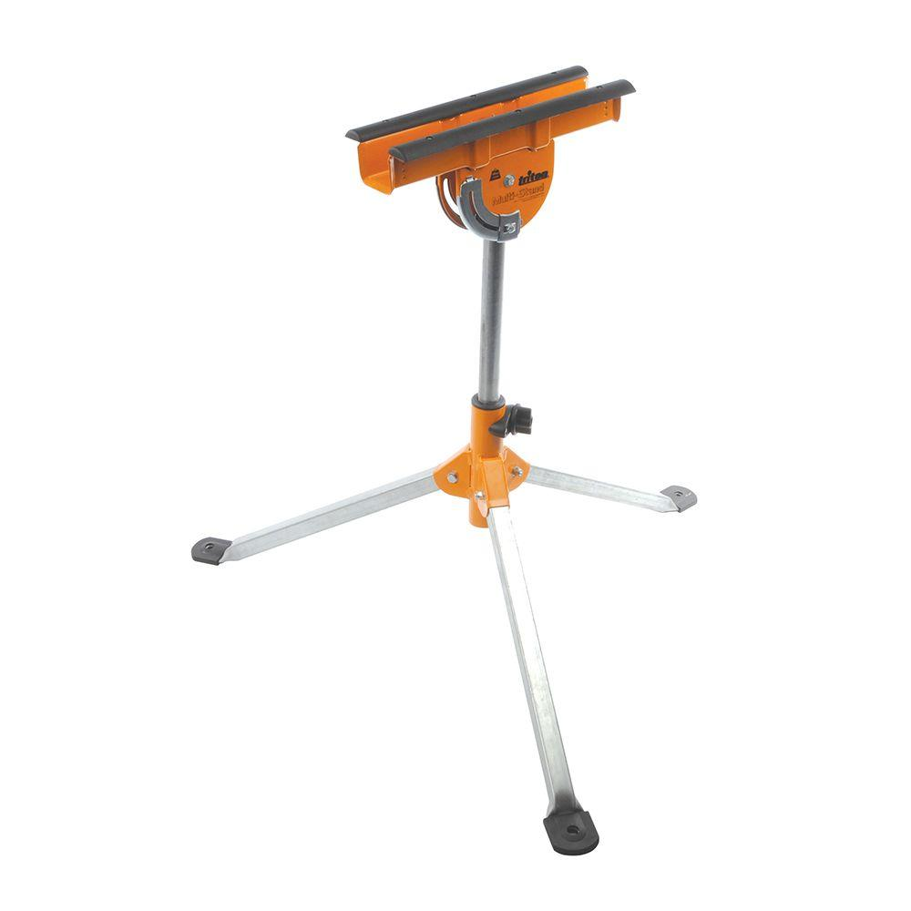 Triton 25 in. - 37 in. Multipurpose Adjustable Support Multi-Stand with Extra-Wide Tripod Base