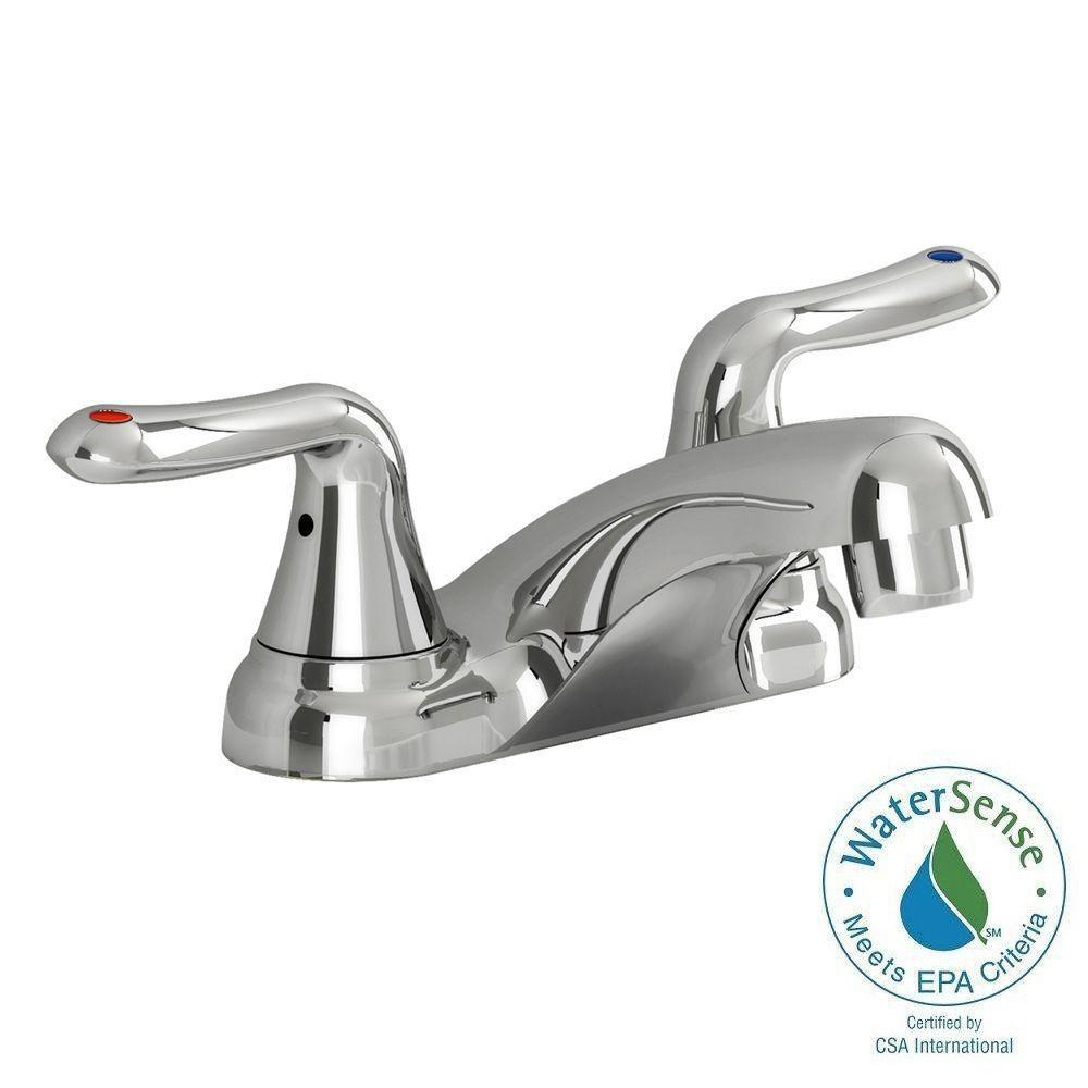 commercial bathroom faucets. American Standard Glen Rock Commercial 4 In. Centerset 2-Handle Bathroom Faucet In Polished Faucets I