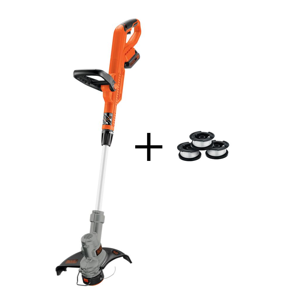 12 in. 20-Volt MAX Lithium-Ion Electric Cordless 2-in-1 String Grass