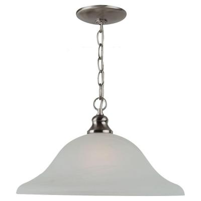 Windgate 1-Light Brushed Nickel Pendant